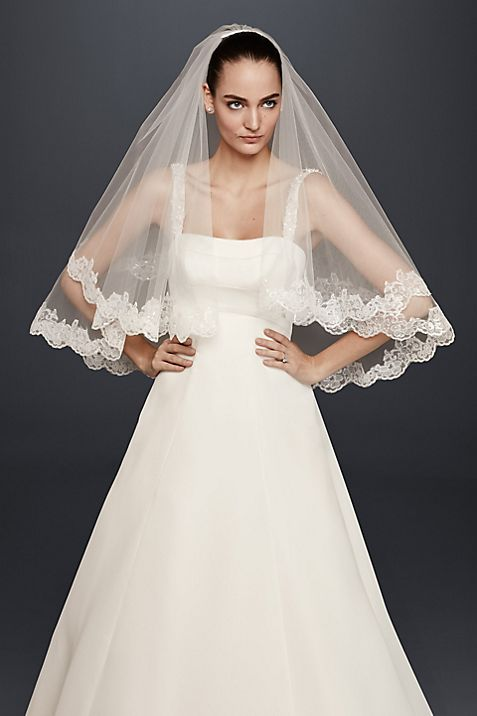 Elegant Wedding Veils For Sale | David\'s Bridal