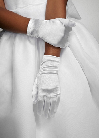 Flowergirl Wrist Length Glove 1028