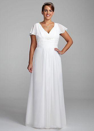 Plus Size Wedding Dresses Less Than $200 95