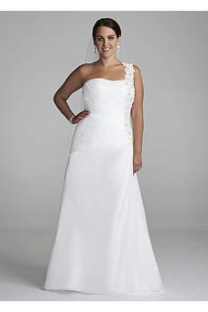 One Shoulder Wedding Dresses & Gowns | David's Bridal