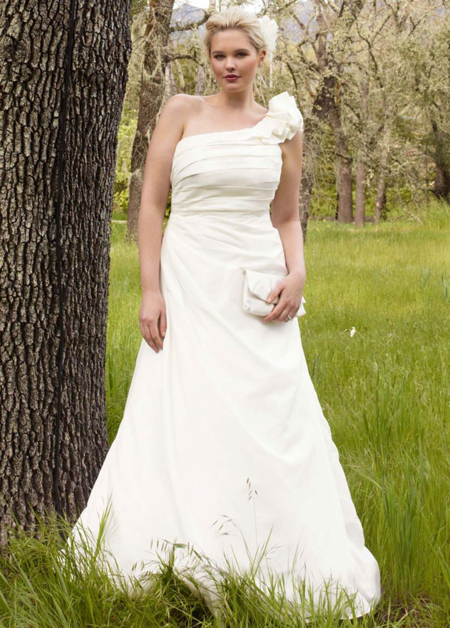 Plus size beausion i am full figured one and i am top for Plus size wedding dresses okc