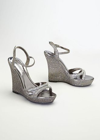 Glitter Wedge Sandal Shoes Glitter Wedge Sandal