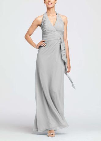 David S Bridal 81123 Latte Champagne Bridesmaid Dresses