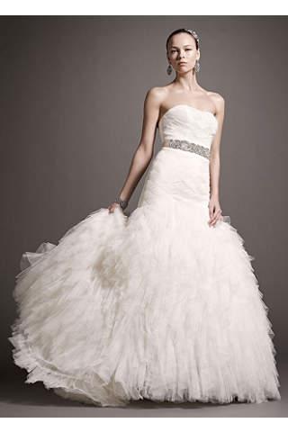 Ivory Wedding Dresses: Short &amp- Long Styles - David&-39-s Bridal