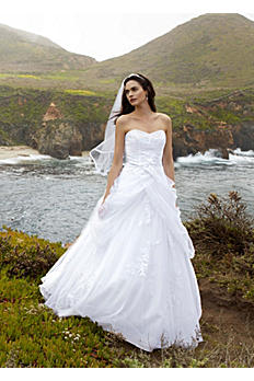 Bridal Sample Sale These bridal gowns are new or slightly used in store as samples for brides to try on. Some samples are newer than others and may be in perfect condition. Please contact us with any questions or to request pictures of the dress you are interested in.