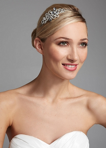 Crystal Headband with Pear Shaped Embellishments 311712