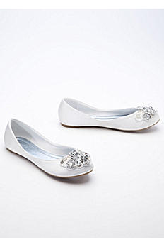 Ballet Flat with Beaded Design JACLYN