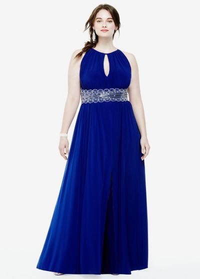 Waist Jersey Dress 1298w
