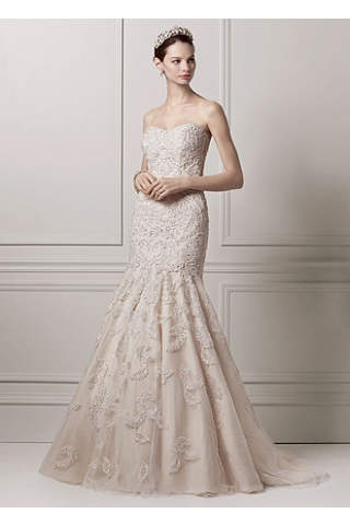 gold wedding dresses gowns short long davids bridal