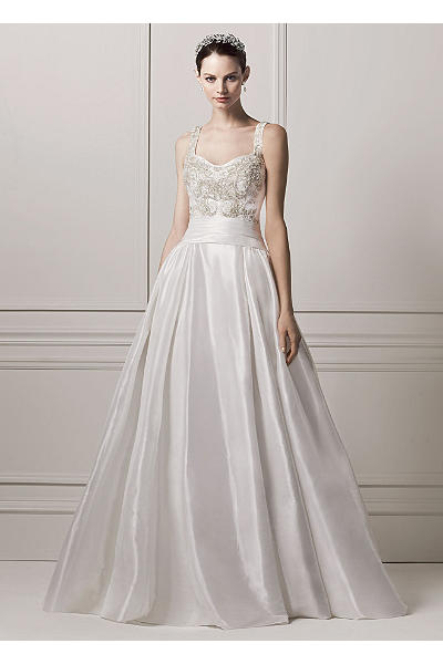 as is sleeveless tank ball gown wedding dress ai14010450