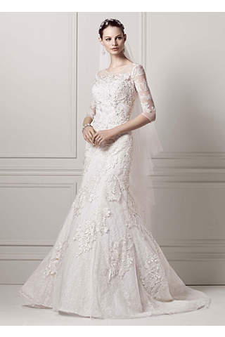 Long Sleeve Lace Wedding Dresses | David's Bridal