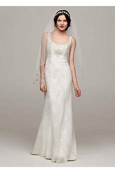 All Over Lace Tank Gown