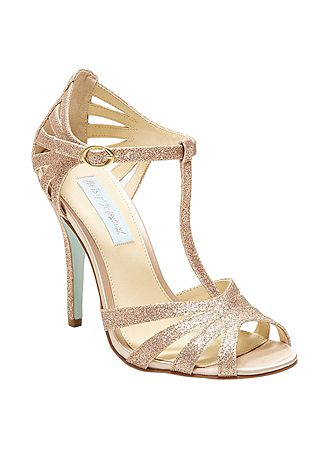 david s bridal wedding bridesmaid shoes blue by betsey