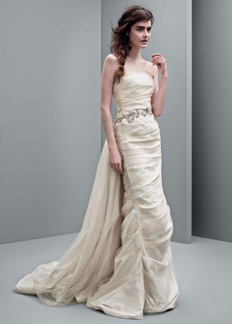 Column Bridesmaid Dress