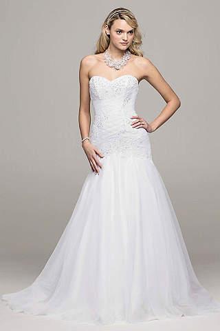 White Wedding Dresses & Bridal Gowns | David's Bridal