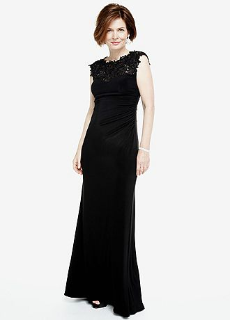 David'S Bridal Lace Mother Of The Bride Dress 8