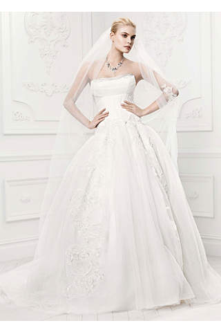 Ivory Wedding Dresses: Short &amp- Long Styles - David&-39-s Bridal