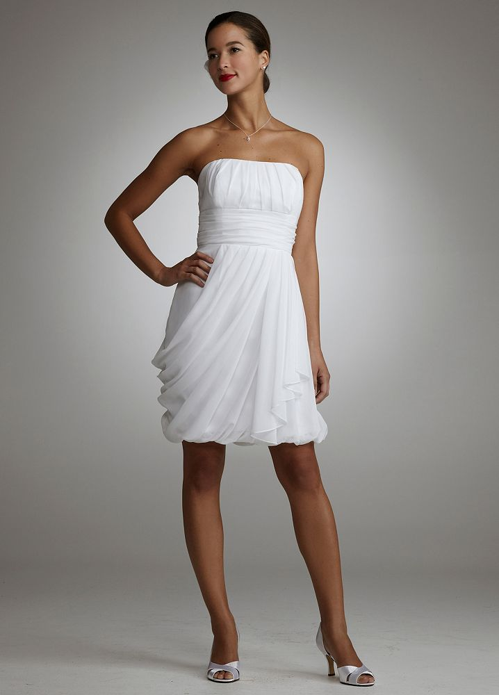 Short Wedding Dresses Are Perfect For Informal Or Beach Weddings