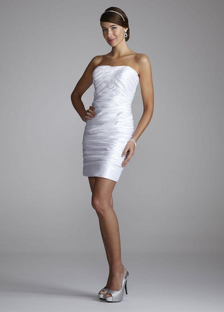 3051bd0c6969 Short Wedding Dresses - Trouble Finding Short Informal Wedding Dresses