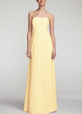 David S Bridal Has The Color Canary