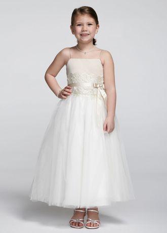 Lace Flower Girl Dresses Davids Bridal - Wedding Short Dresses