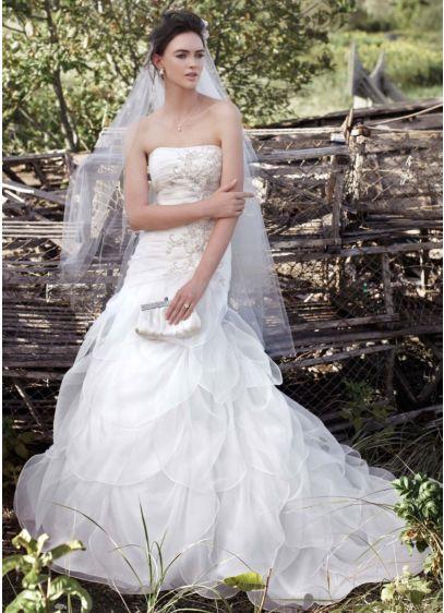 Long Mermaid Trumpet Wedding Dress