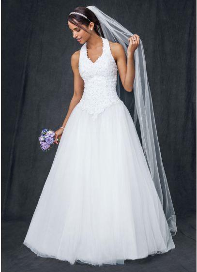 Long Ballgown Wedding Dress