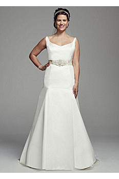 Trumpet Gown with Button Back Detail AI10030419