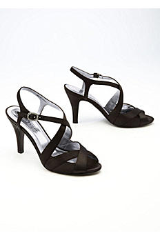 Cross Strap Sandal with Rhinestone Clasp ABETHANIA2
