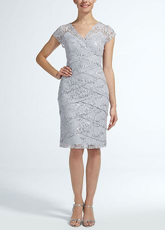 David'S Bridal Lace Mother Of The Bride Dress 81