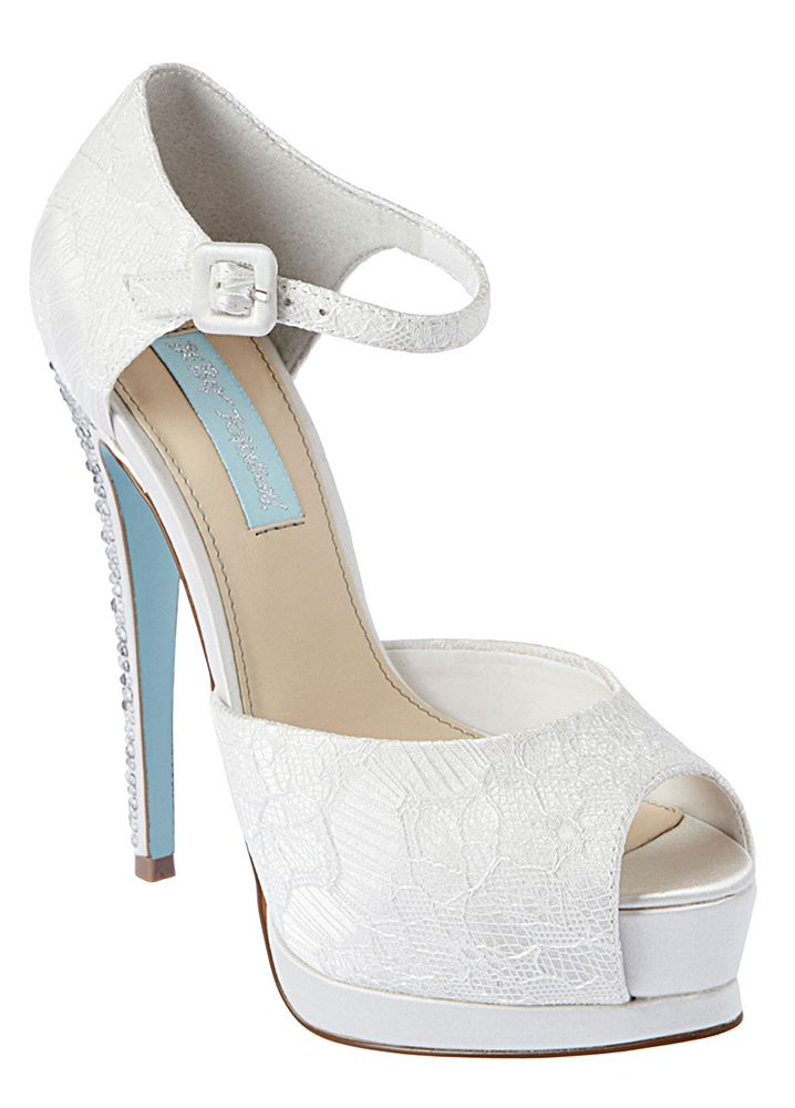 David's Bridal Wedding & Bridesmaid Shoes Betsey Johnson ...