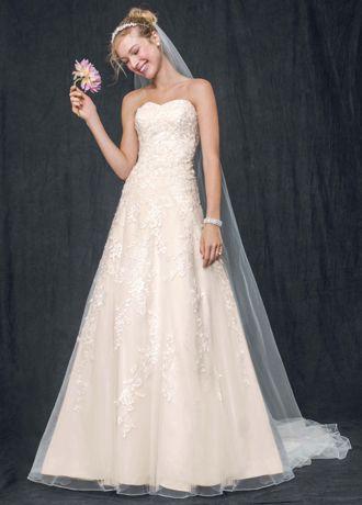 wedding dress sweetheart a line lace