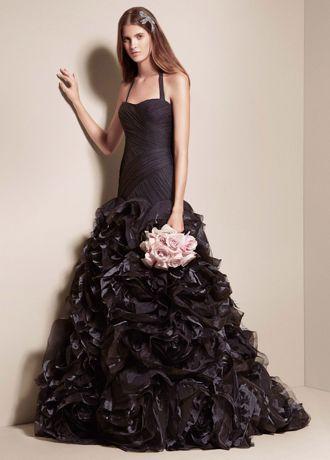 Long Mermaid/ Trumpet Modern Chic Wedding Dress -