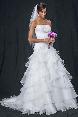 Sexy Backless Wedding Dresses   David's Bridal