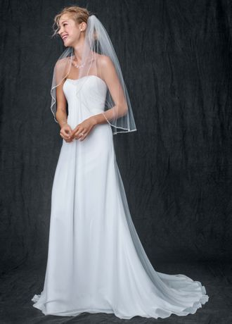 Sheath Gown with Beaded Sweetheart Neckline WG3481