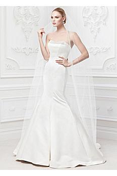 Truly Zac Posen Wedding Dress with Pearl Details ZP345008