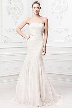 Truly Zac Posen Embroidered Wedding Dress ZP345017