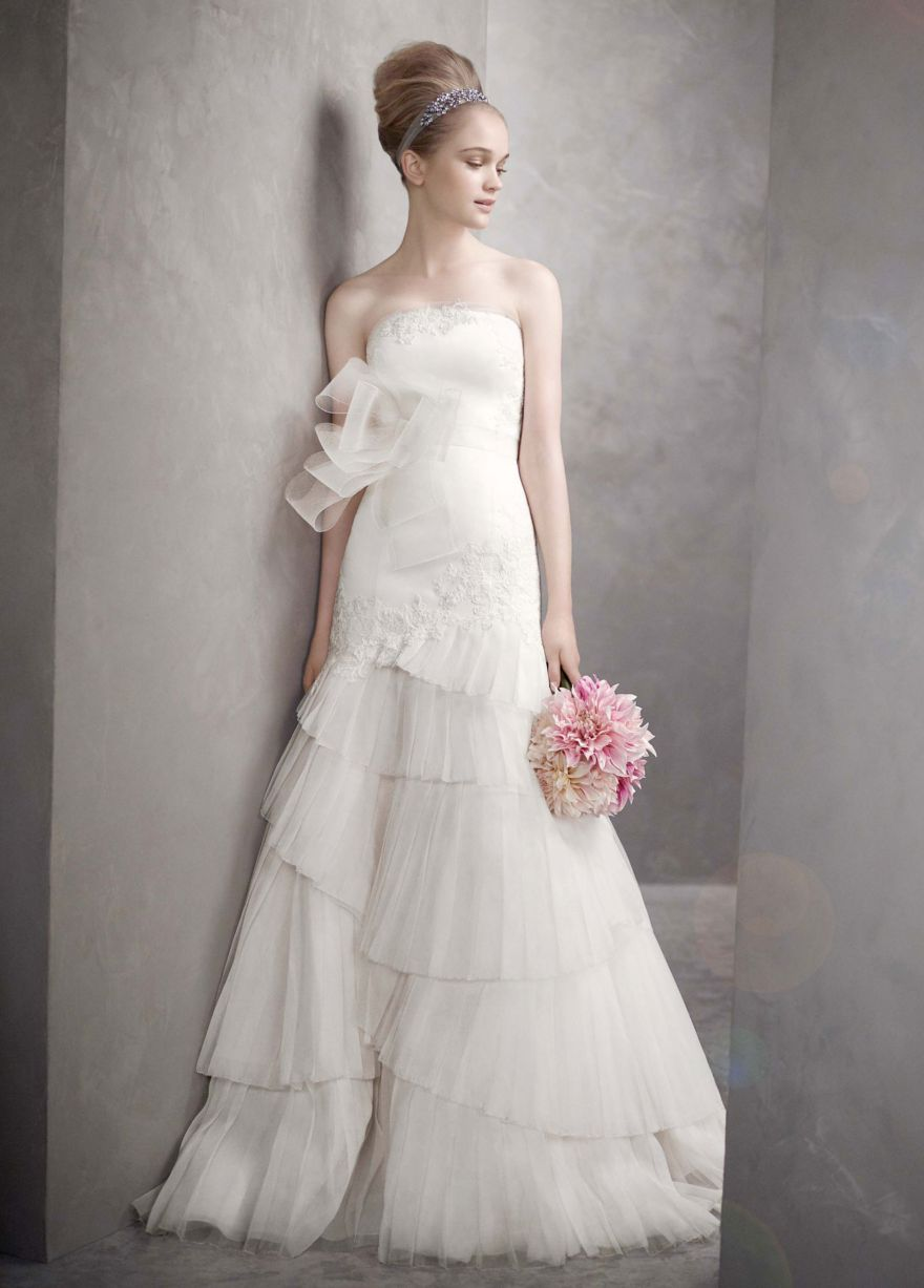 Plus Size Bridal In Vera Wang 2012 White Collection The Pretty
