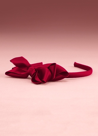 Child's Headband with Ribbon Bow H7560