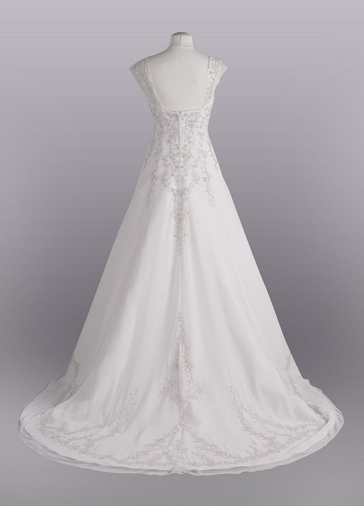 david 039 s bridal sample wedding dress a