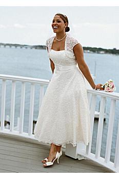 Strapless Tea-Length Gown with Cap Sleeve Shrug AI13011280