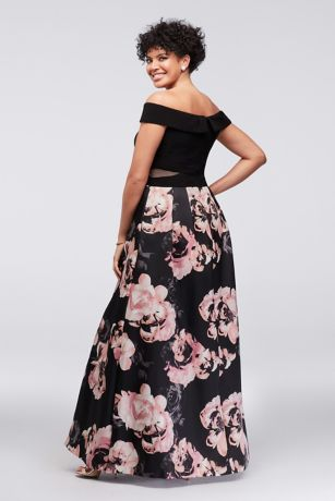 32c16e176167d Long Ballgown Off the Shoulder Cocktail and Party Dress - Xscape. Save