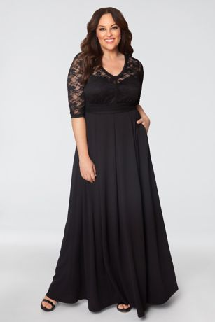 edc6ba8be2b Madeline Plus Size Evening Gown