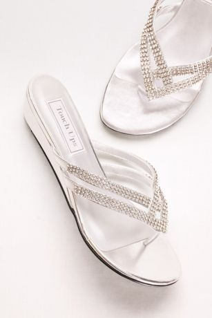 3cc20be8b ... (Tango Low Wedge Crystal Sandals). Save