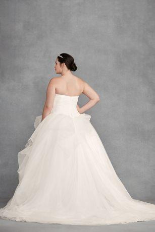 7bba17bb3a5 Long Ballgown Formal Wedding Dress - White by Vera Wang. Save