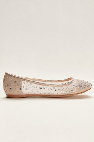 f14412d8bb9 Blossom Beige (Mesh Ballet Flat with Scattered Crystals). Save