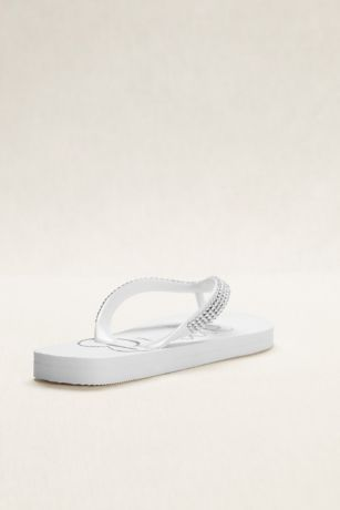 5d6be7519 Crystal Bride Flip Flops