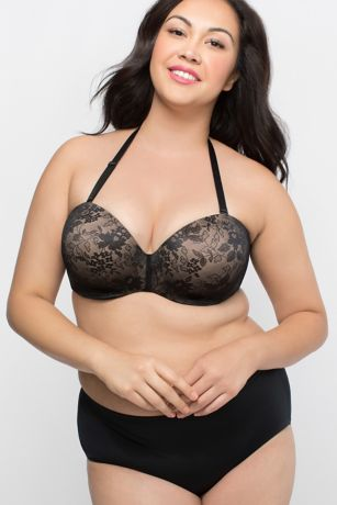 b946337b40ad8 Curvy Couture Strapless Convertible Push-Up Bra - Wedding Accessories. Save
