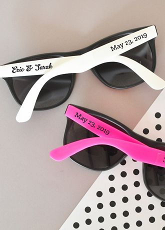 6f1183f372 Personalized Wedding Sunglasses