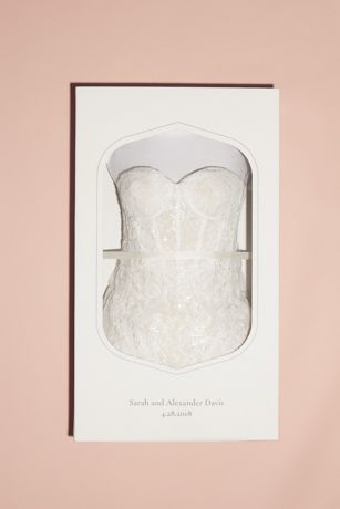 Wedding Dress Cleaning And Preservation Kit David S Bridal,Custom Design Wedding Dress